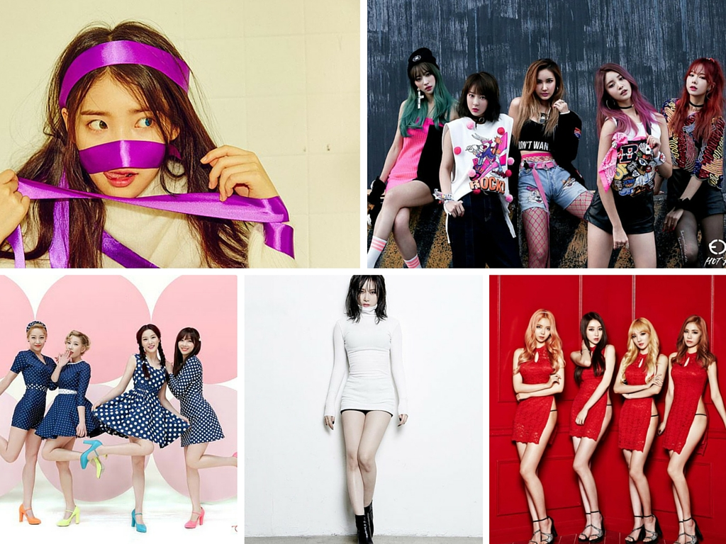 IU, Stellar, Yezi, EXID, Sunny Hill 5 Female K-Pop Acts Taking On Sexism