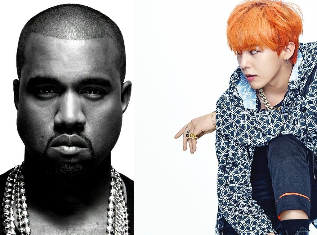 G-Dragon and kanye