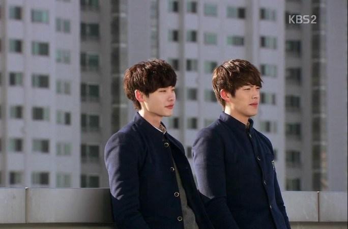 Lee Jong Suk Kim Woo Bin school 2013 k drama kdrama bromance
