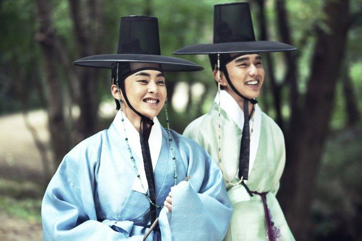 Seondal Xiumin and Yoo Seung Ho