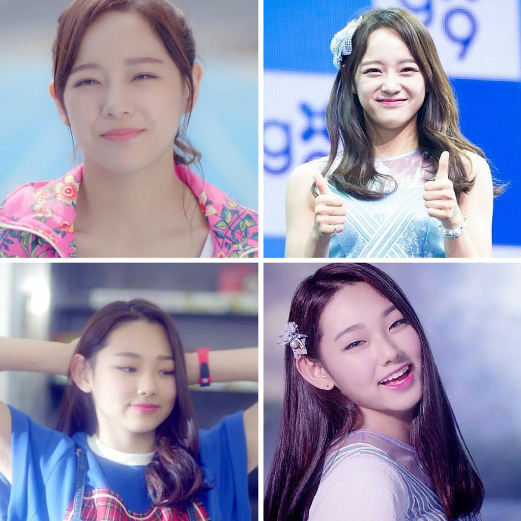 Sejeong Mina I.O.I Gugudan