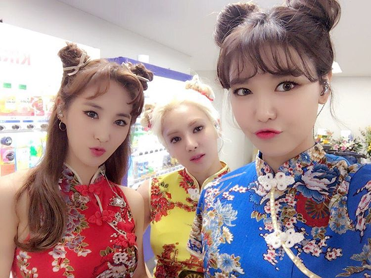 SHY Sooyoung Hyoyeon Yuri SNSD Girls' Generation