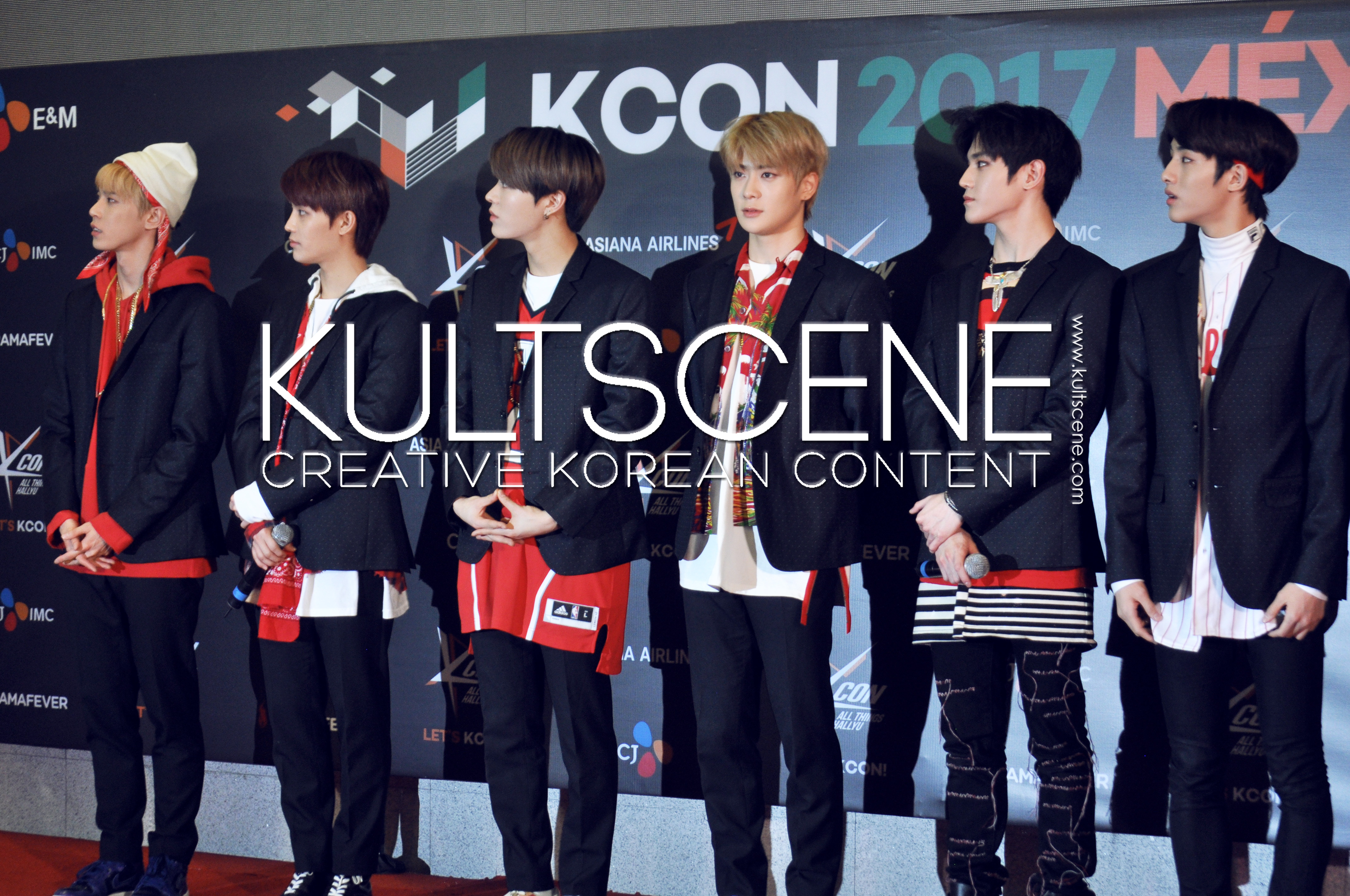 nct 127 kcon mexico 2017 17 red carpet kpop