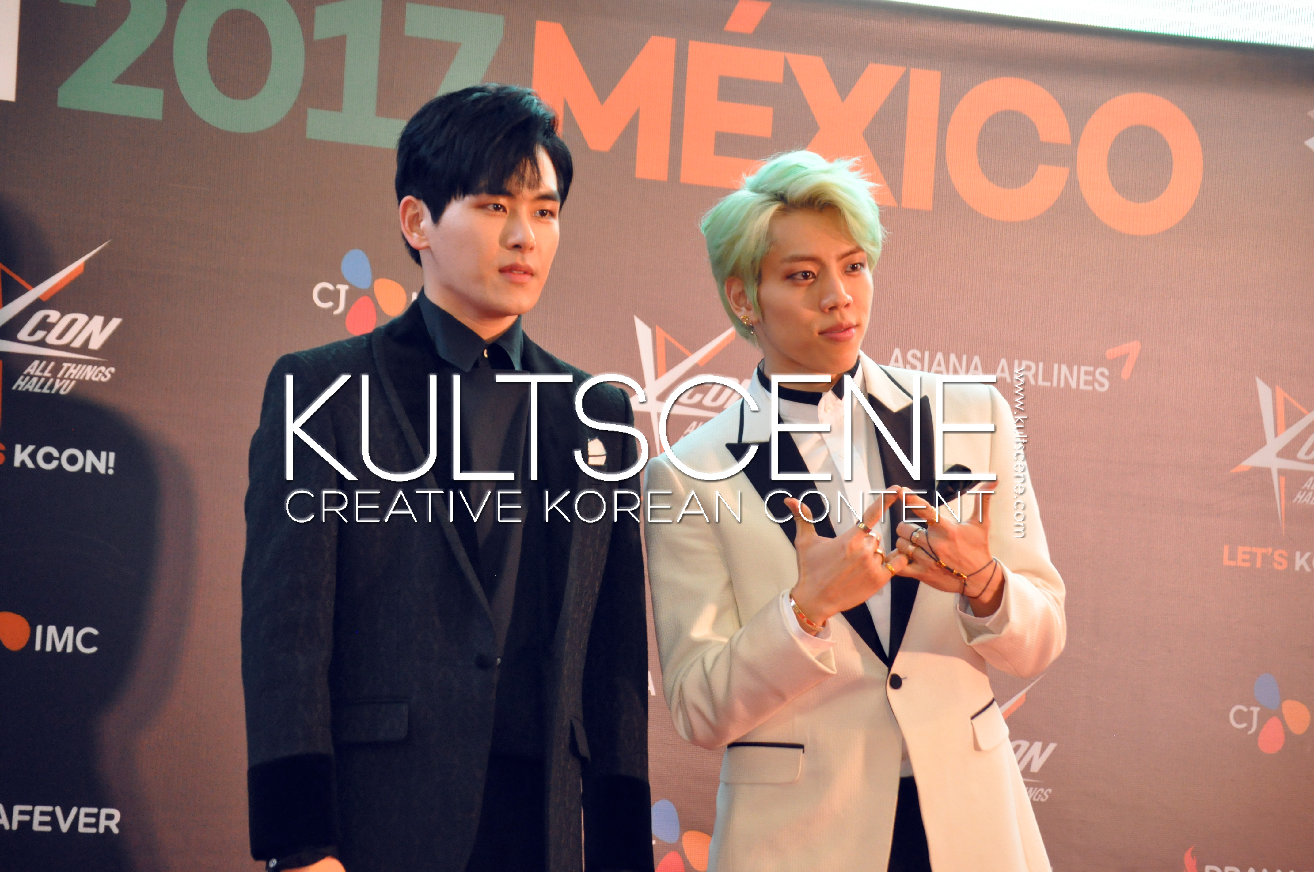 kcon mexico 2017 infinite h red carpet hoya dongwoo 17 mx kpop