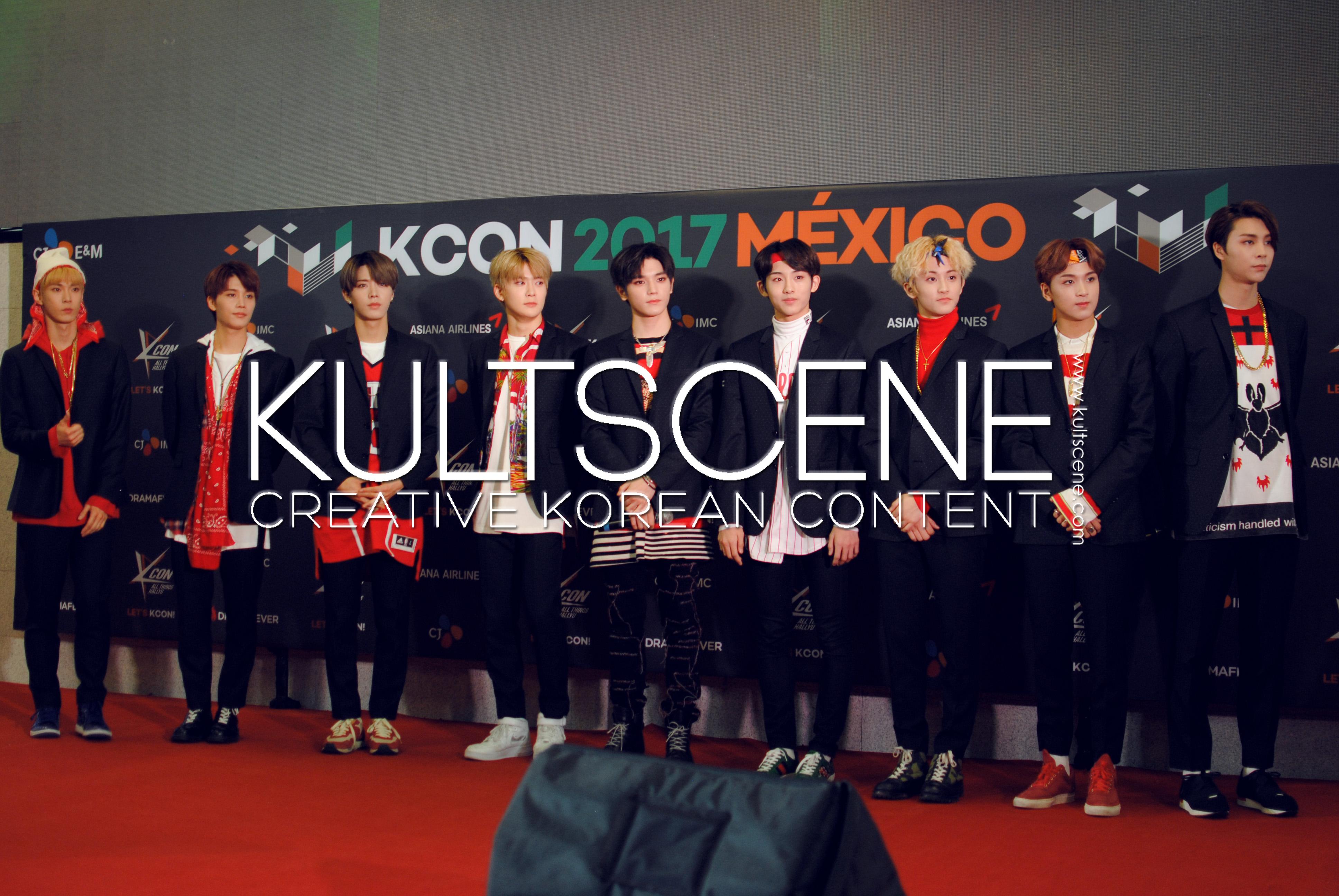 kcon mexico 2017 red carpet nct 127 17 mx kpop