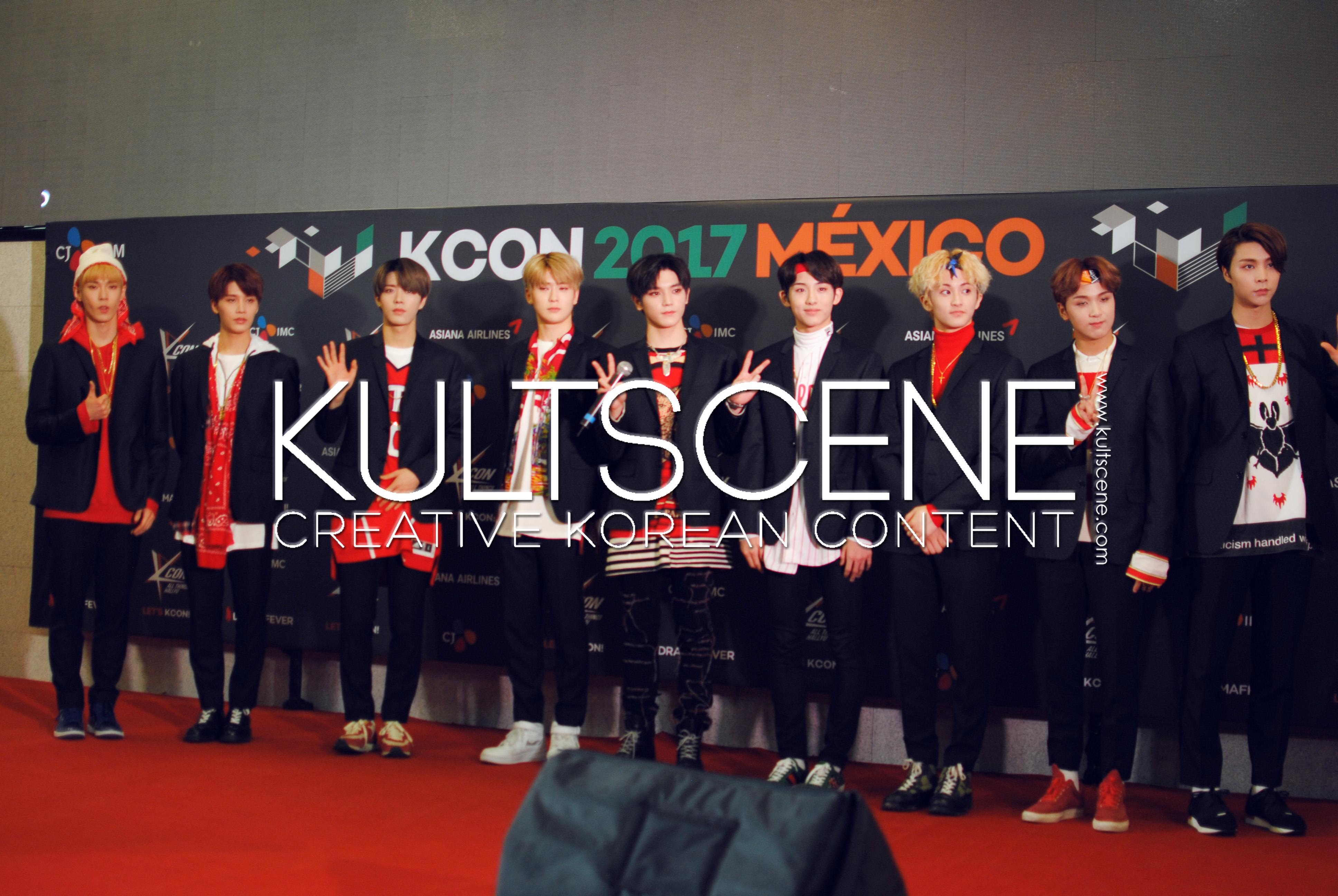 kcon mexico 2017 nct 127 red carpet mx kpop 17