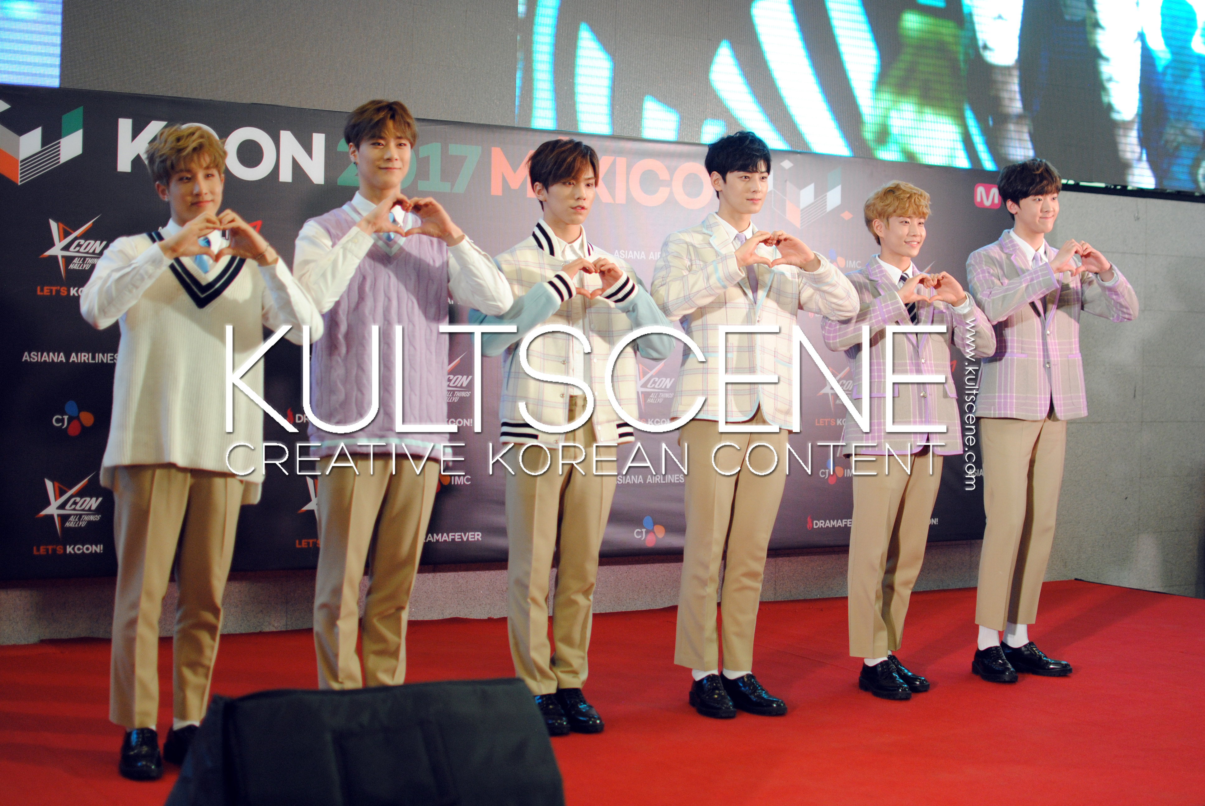 kcon mexico 2017 astro red carpet 17 mx kpop