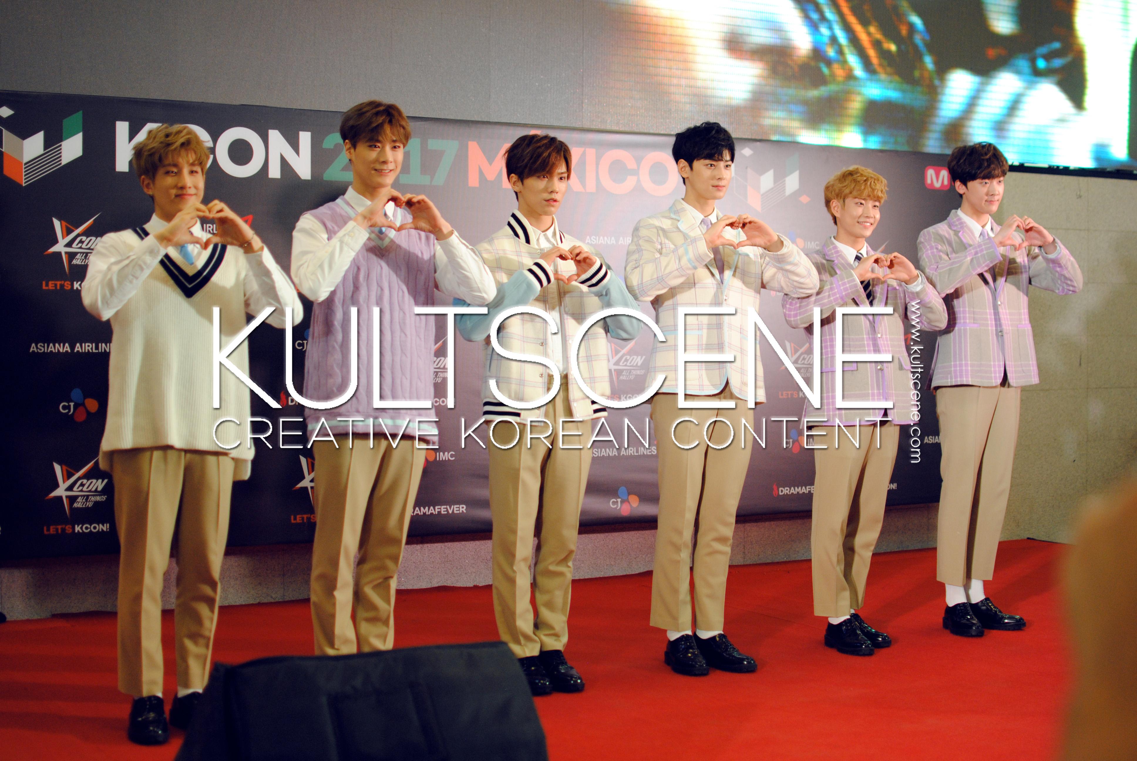 kcon mexico 2017 astro red carpet mx 17 kpop