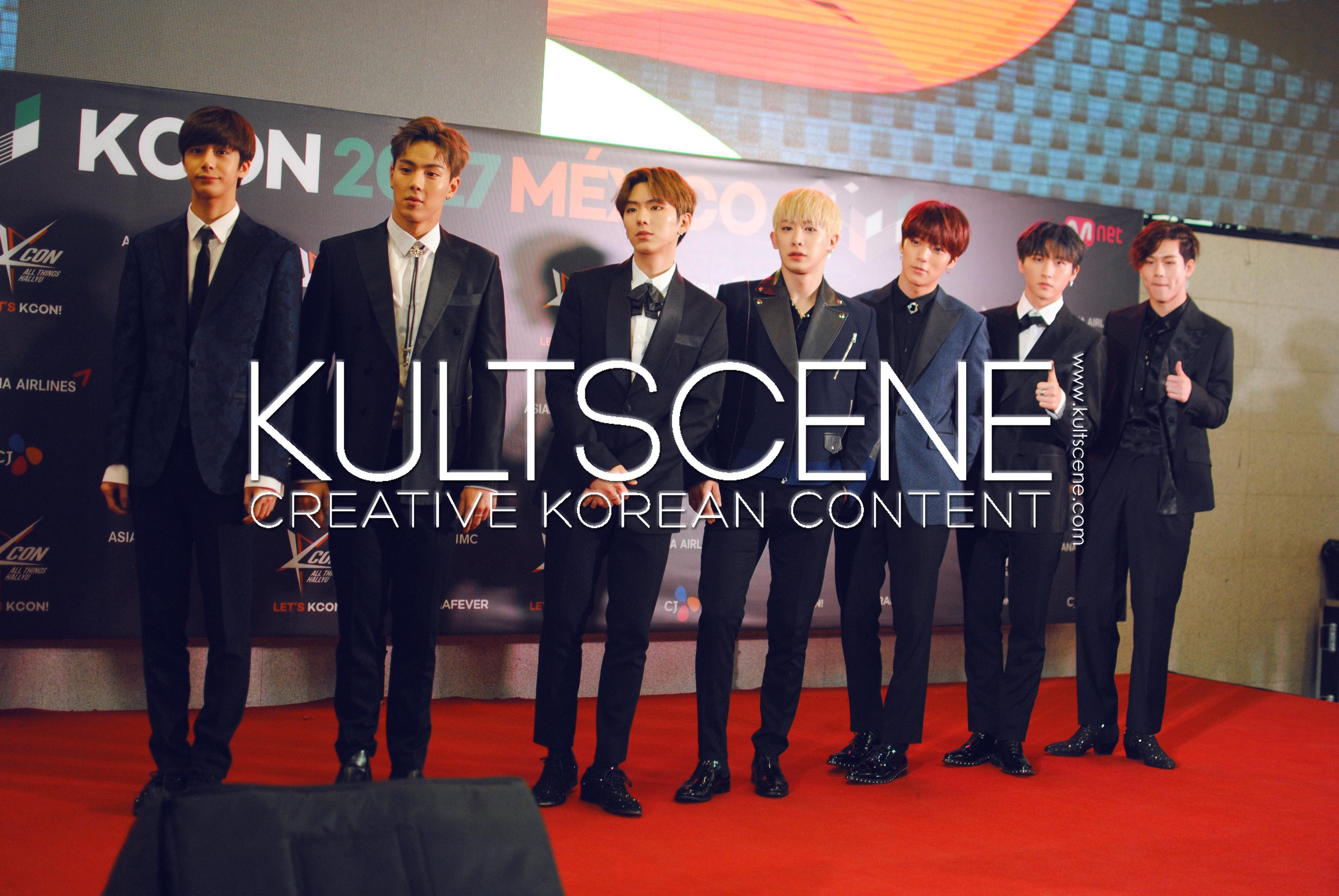 kcon mexico 2017 monsta x red carpet mx 17 kpop