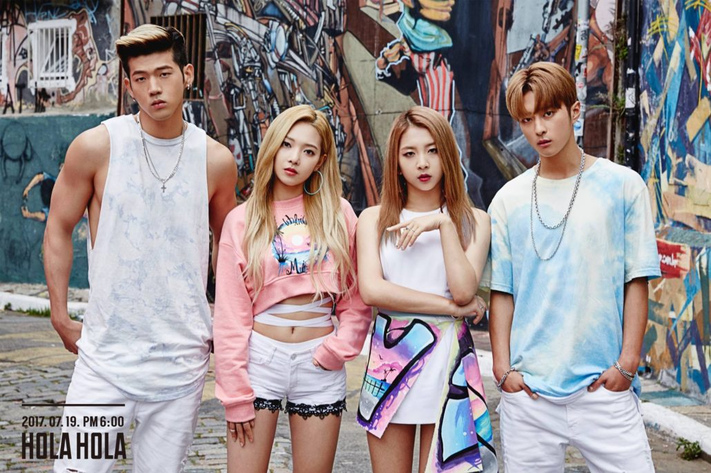 K.A.R.D kard hola hola review song music video mv debut kpop k-pop