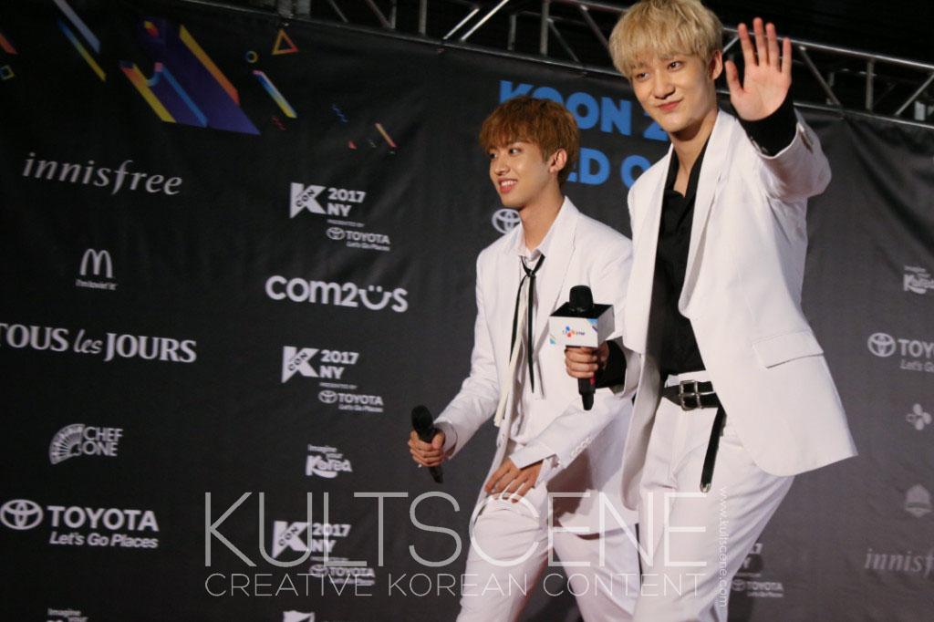 KNK kcon ny new york 17 2017 kpop k-pop boy band group
