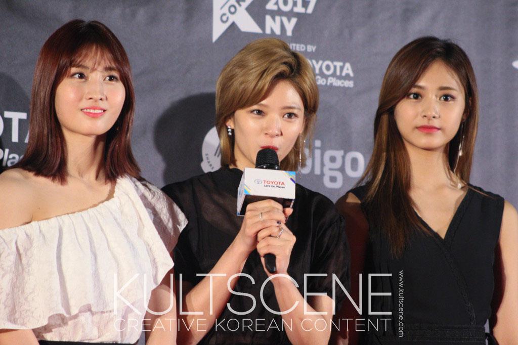 twice kcon new york 2017 17 ny kpop k-pop momo tzuyu