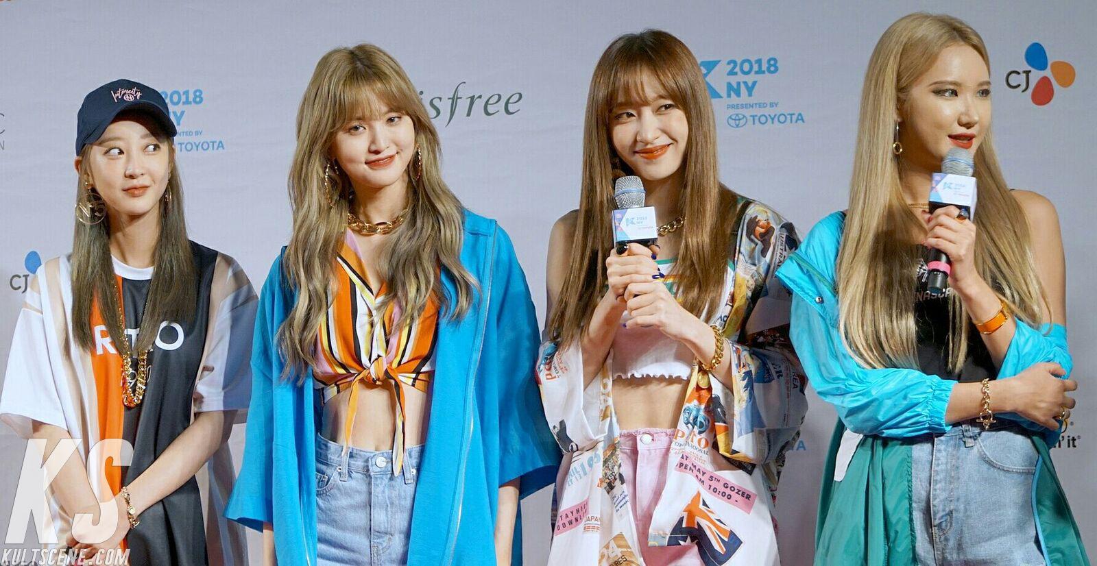 EXID at KCON 2018 NY