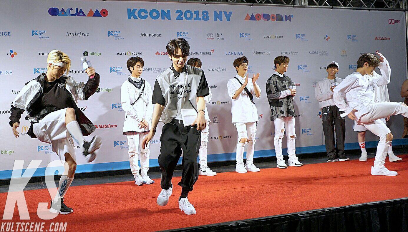 Stray Kids at KCON 2018 NY
