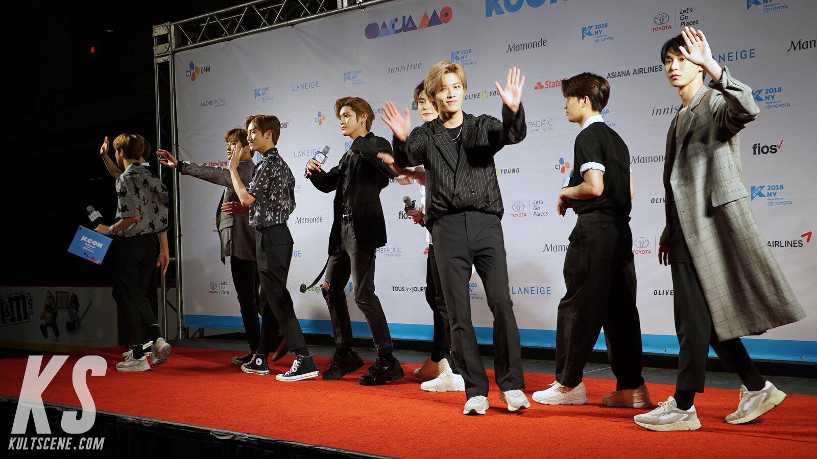 NCT 127 at KCON 2018 NY