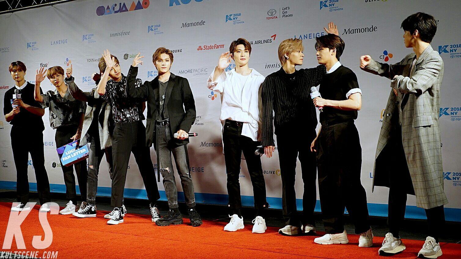NCT 2017 KCON 2018 NY