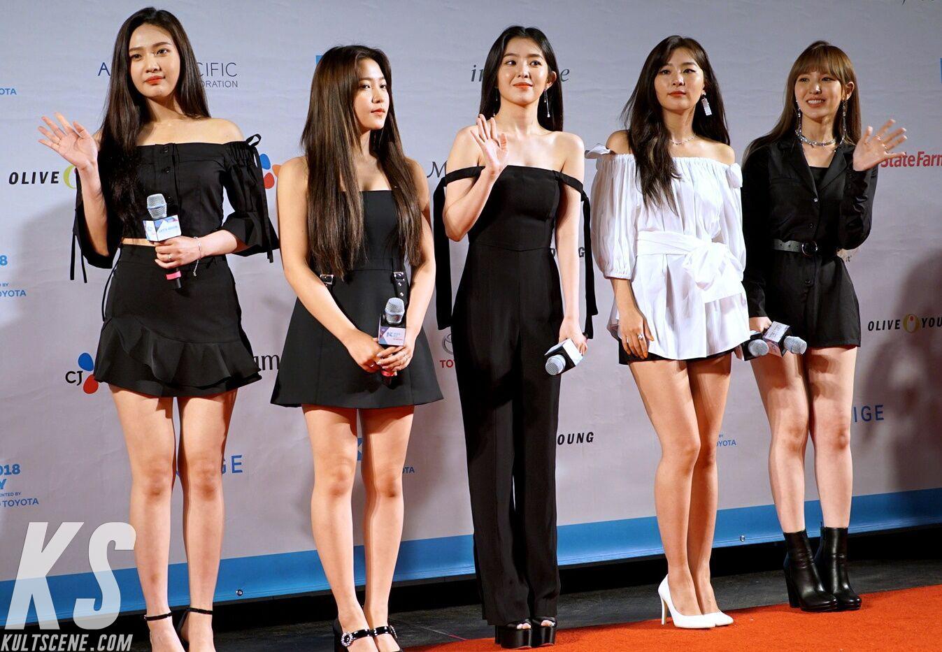 Red Velvet at KCON 2018 NY