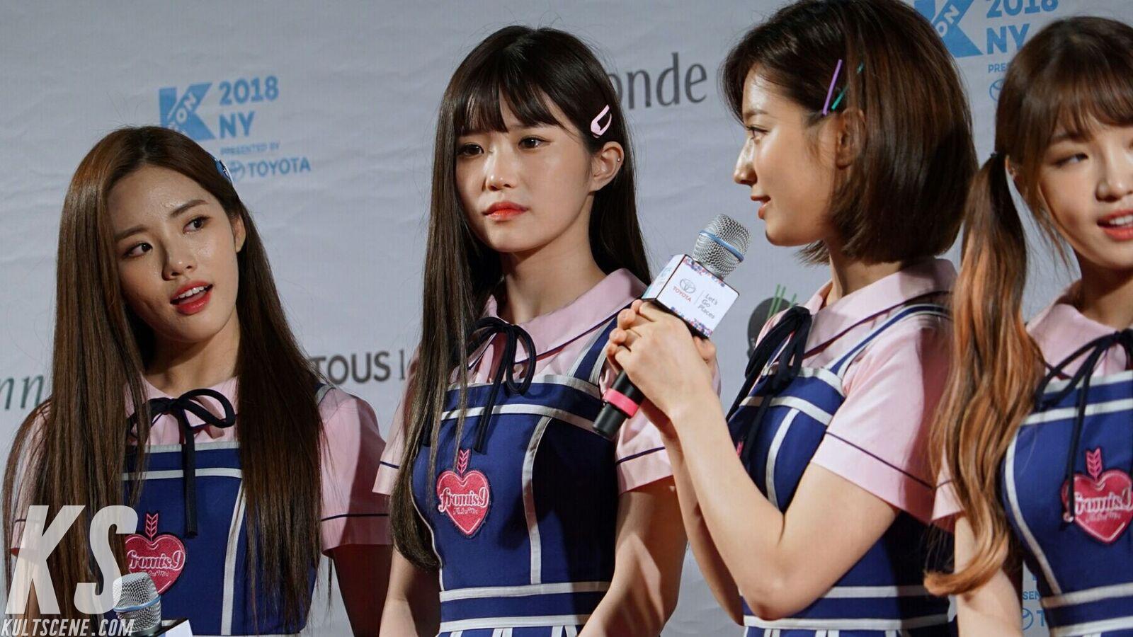 fromis_9 e at KCON 2018 NY