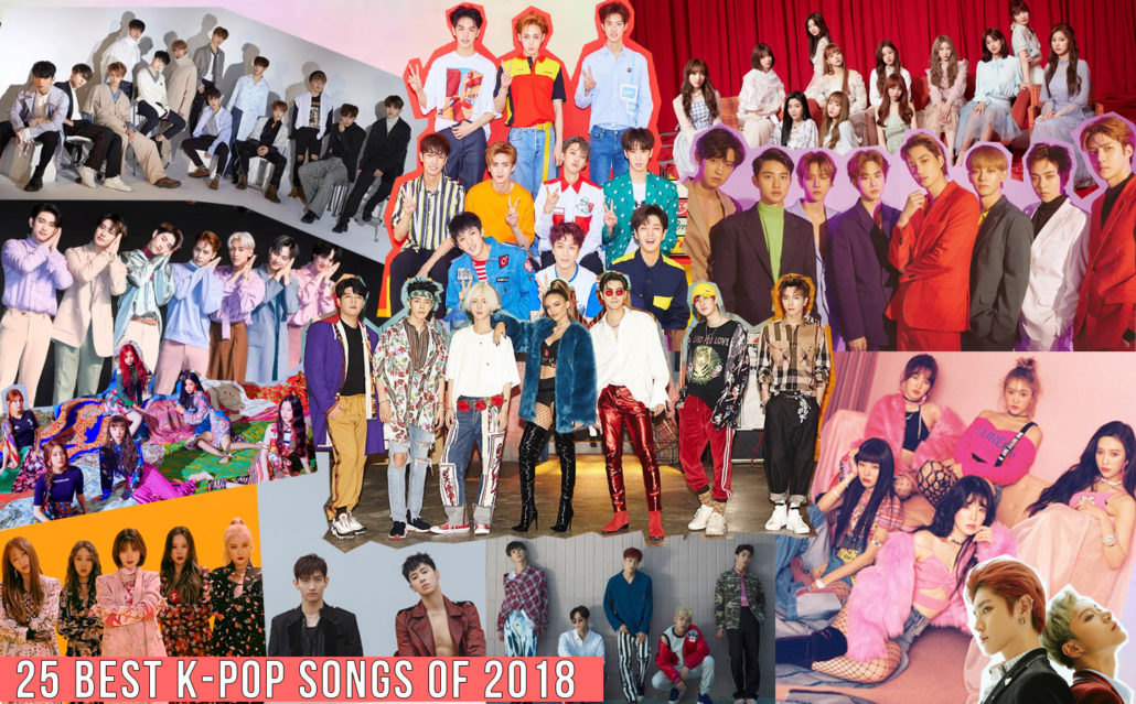 kpop k-pop k pop songs tracks best topt 2018 18