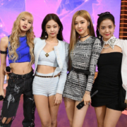 BLACKPINK at Good Morning America. Lisa, Jennie, Rosé, and Jisoo