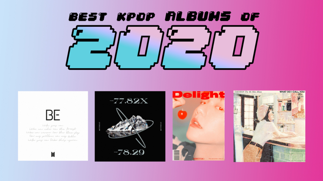 best kpop albums 2020 top ep korean k pop bts