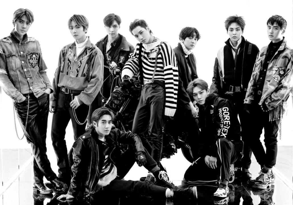 exo tempo anniversary debut