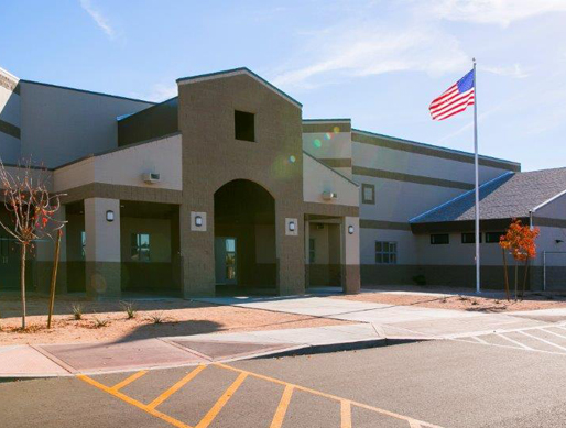 Photo: Front of South Mountain campus