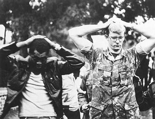 Two American hostages during 1979 Iran Hostage Crisis