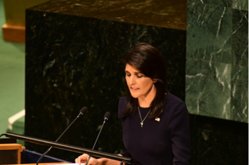 NIkki Haley at UN