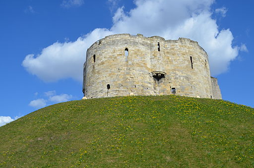 Cliffords Tower, York, UK