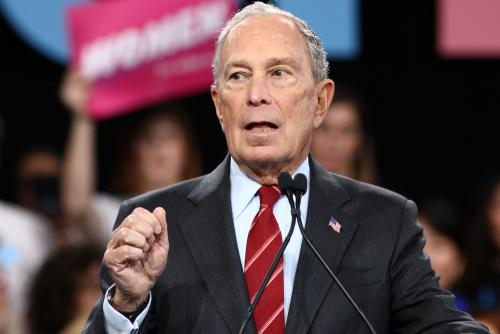 Mike Bloomberg January 2020 debate