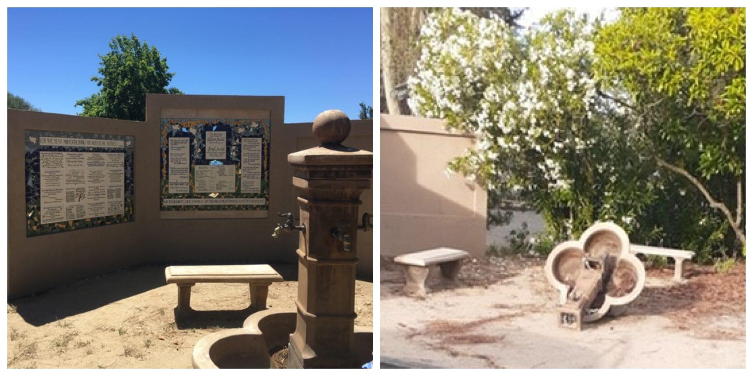 Santa Rosa Holocaust Memorial Fountain