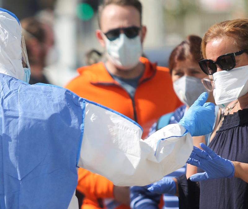 coronavirus testing in Israel