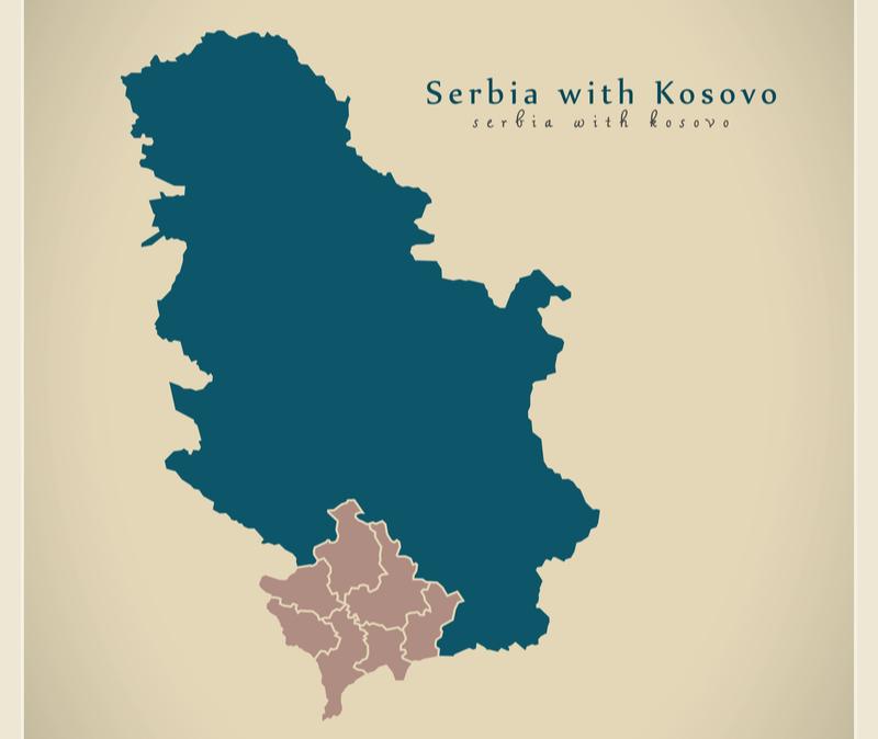 Serbia with Kosovo
