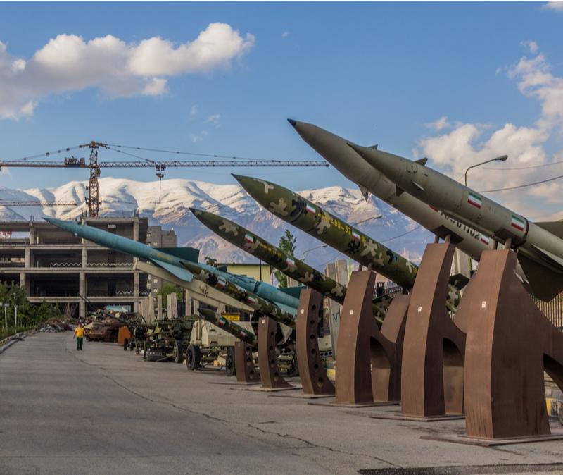 tehran missile display 2018