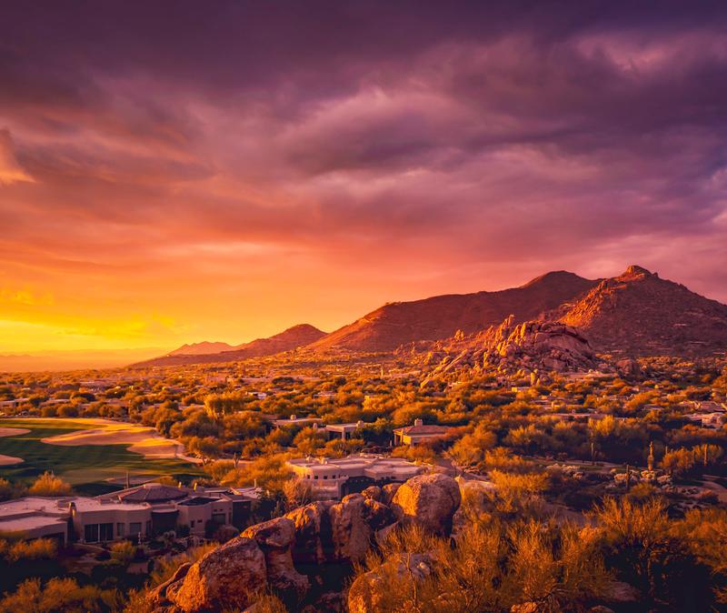 Scottsdale Arizona skyline