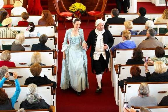Celebrating John and Abigail Adams on their 250th anniversary