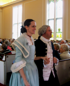 John and Abigail Adams to renew their vows 250 years later in Weymouth