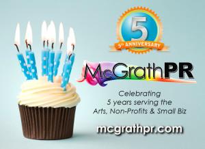 McGrath PR Celebrates 5 Years, Launches New Branding and Website