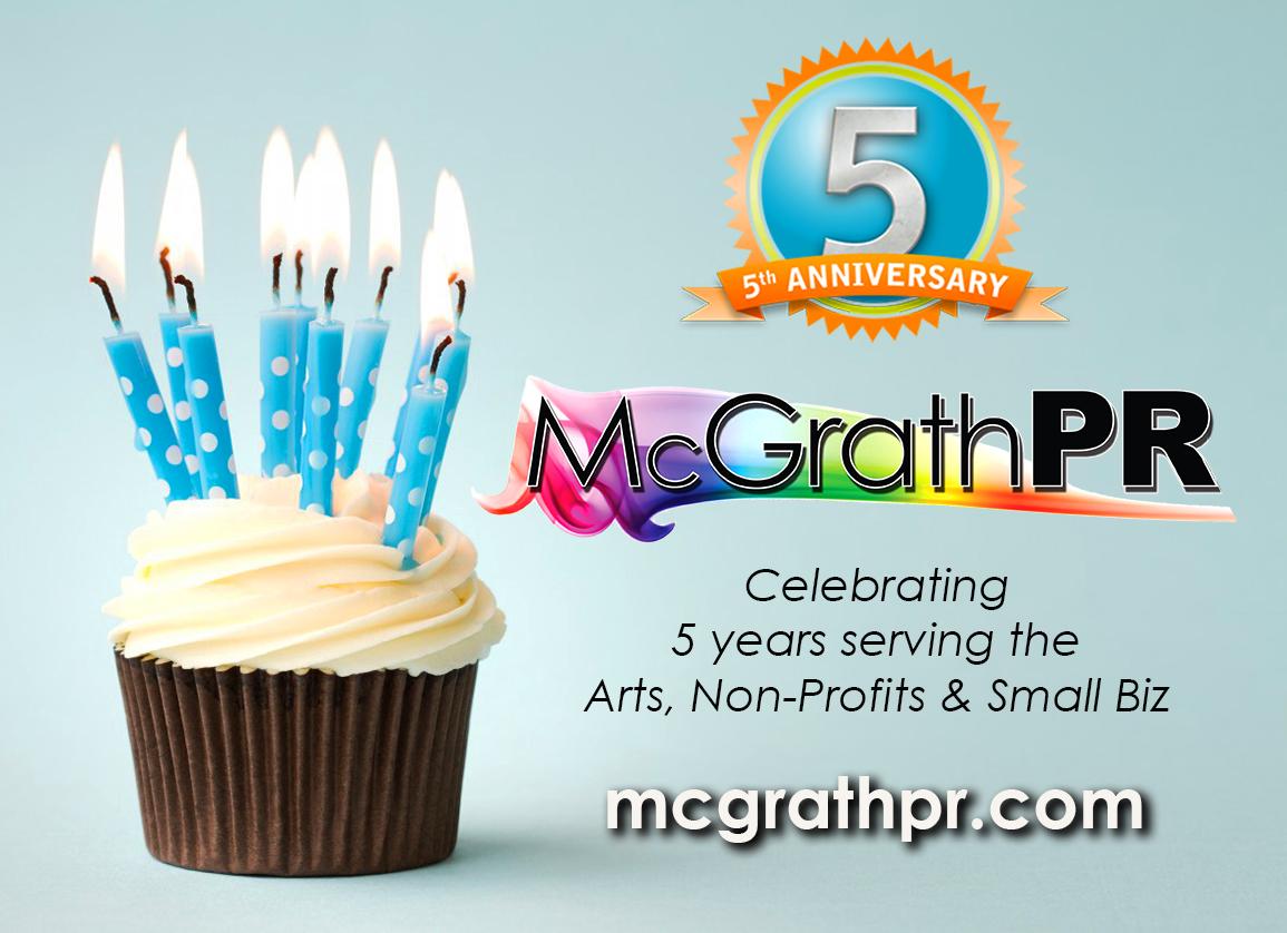 McGrath PR 5th Birthday