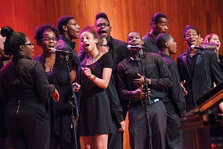 Arts Alliance Brings Boston Arts Academy Ensemble To First Church