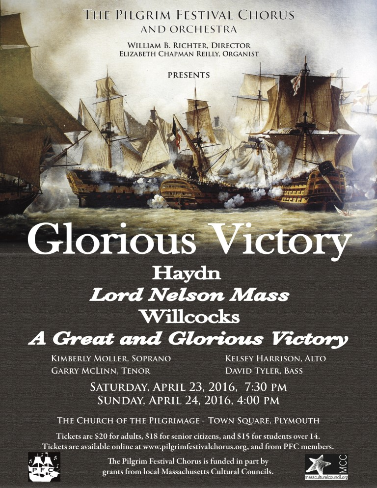 Read more about the article Pilgrim Festival Chorus performs 'Glorious Victory' April 23-24