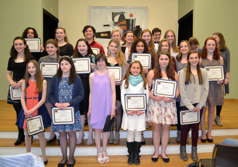 Cohasset vocalists win prizes in South Shore Conservatory Voice Competition