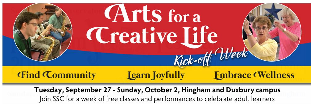Arts for a Creative Life KickOff Week