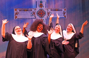 Cast Members of Sister Act the Musical
