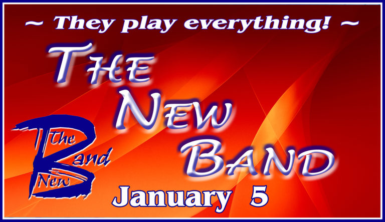 The Company Theatre's Special Events Series Presents The New Band