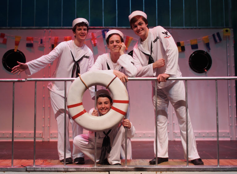 "Set sail with ""Anything Goes"""
