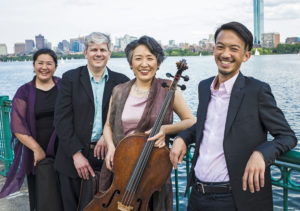 Read more about the article The James Library & Center for the Arts Presents Weekend Classics: The Borromeo String Quartet