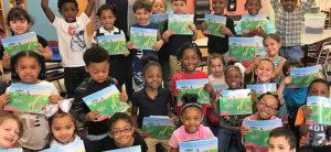 SSC's ImagineARTS Program Distributes 10,000th Book