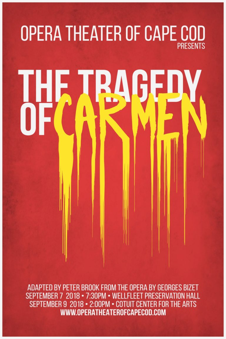 Opera Theater of Cape Cod to Premiere with The Tragedy of Carmen